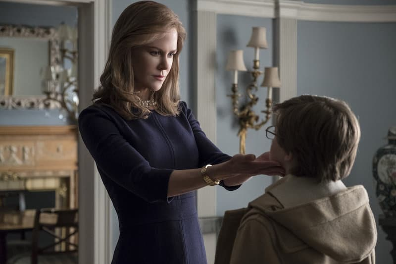 Nicole Kidman and Oakes Fegley in The Goldfinch