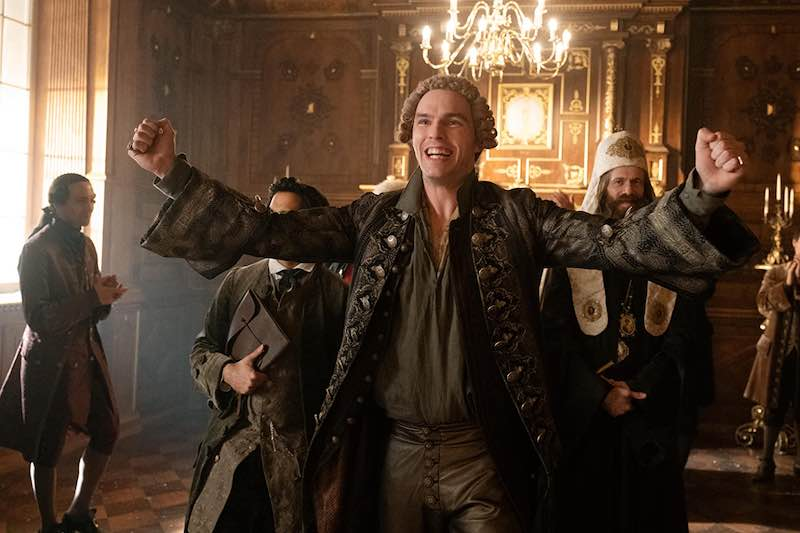 Nicholas Hoult in The Great