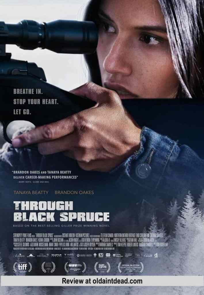 poster for through black spruce