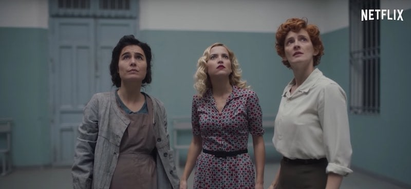 Ana Fernández, Nadia de Santiago, and Ana Polvorosa in Cable Girls