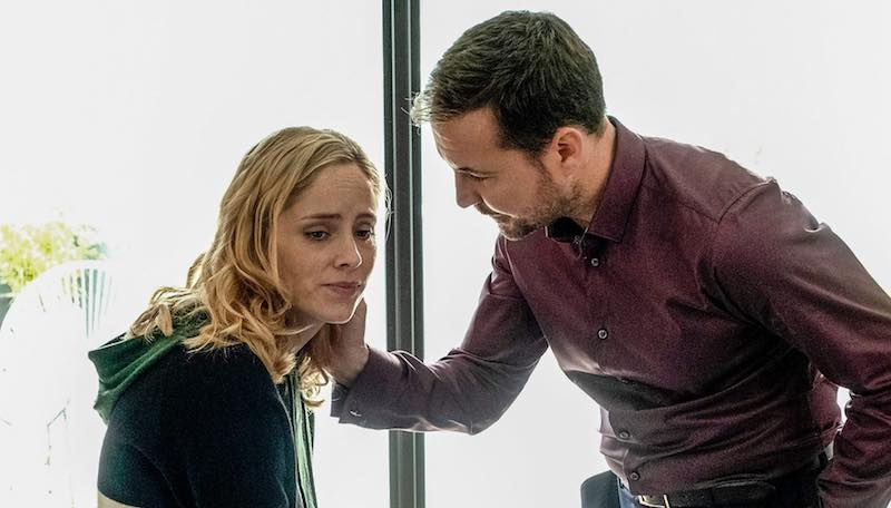 Sophie Rundle and Martin Compston in The Nest