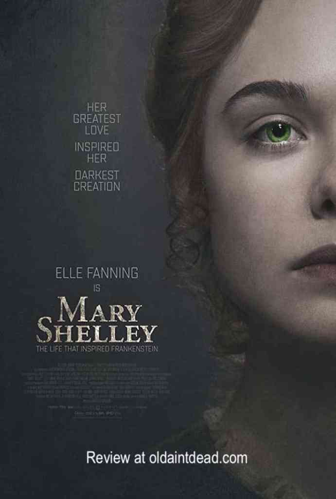 Poster for Mary Shelley
