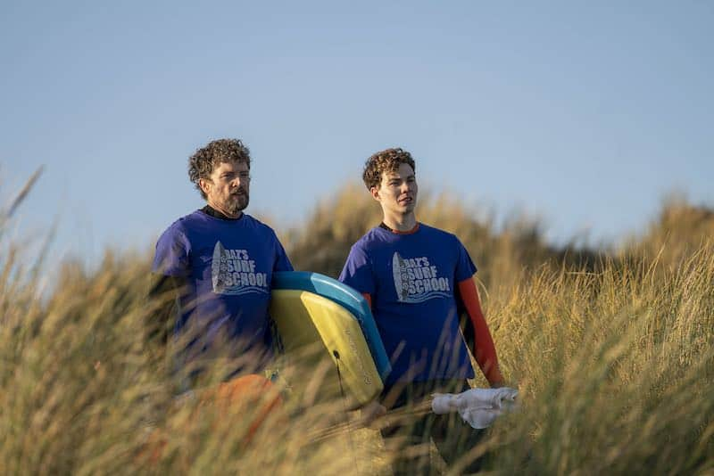 Steve Wall and Sam Barrett in The South Westerlies