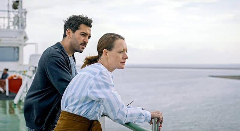 Elyas M'Barek and Lavinia Wilson in What We Wanted