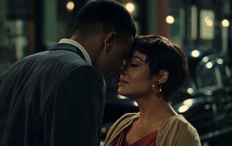 Nnamdi Asomugha and Tessa Thompson in Sylvie's Love