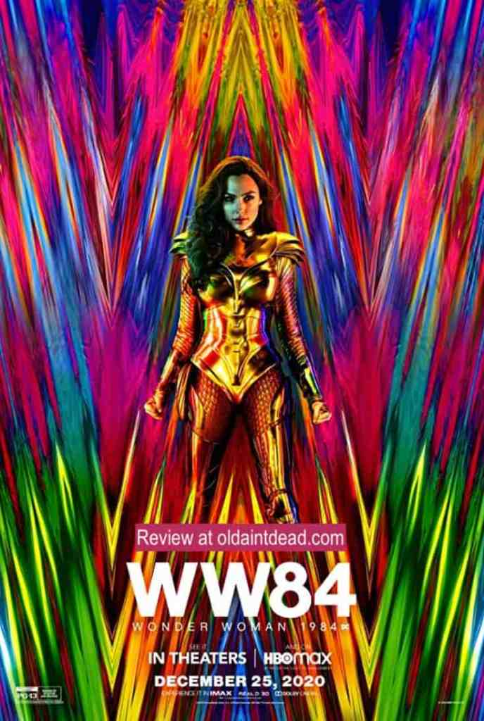 Poster art for Wonder Woman 1984
