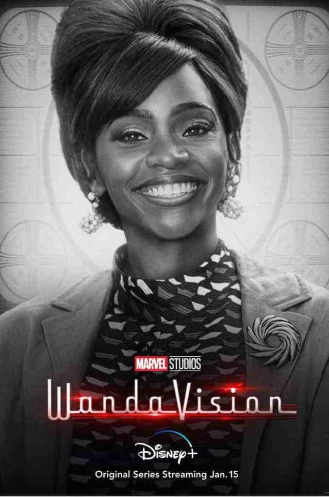 Teyonah Parris poster for WandaVision