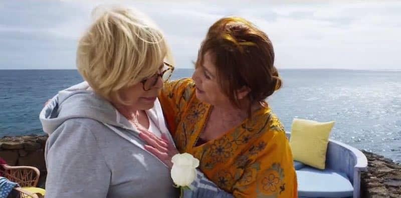 Rosa Maria Sardà and Verónica Forqué in So My Grandma's a Lesbian