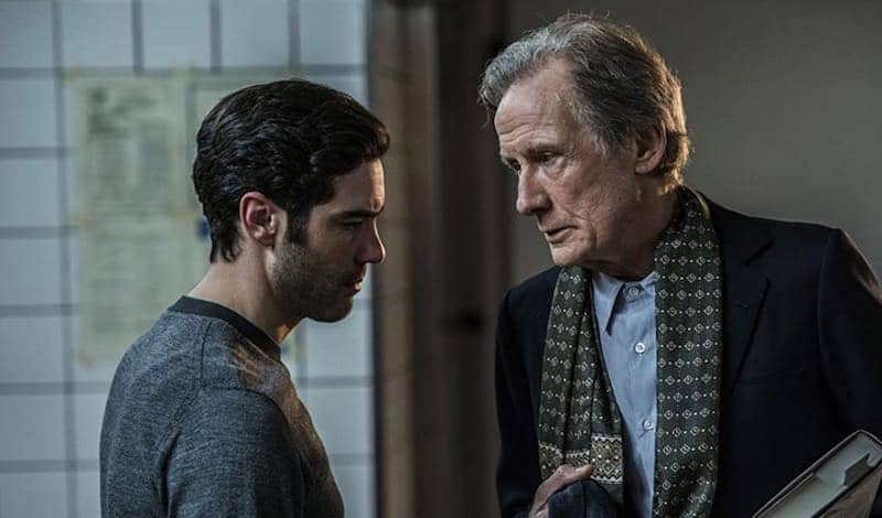 Bill Nighy and Tahar Rahim in The Kindness of Strangers