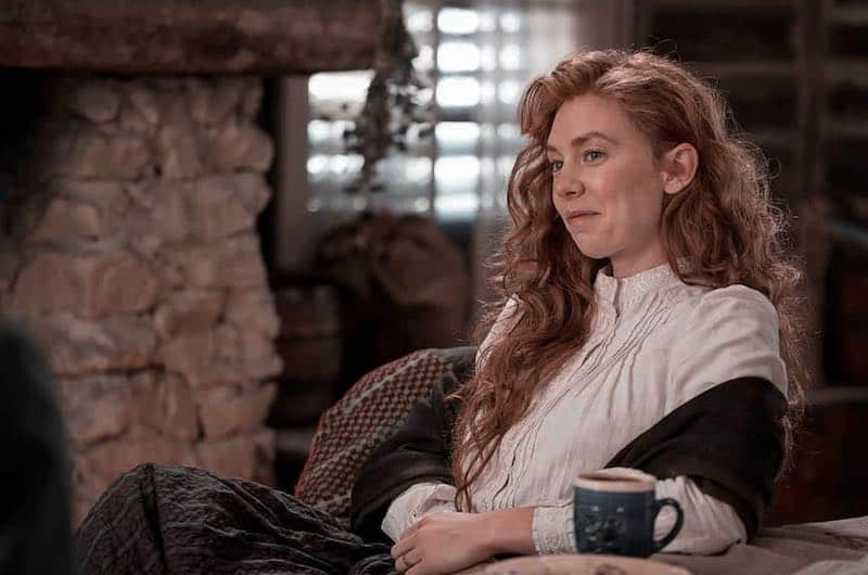 Vanessa Kirby in The World to Come