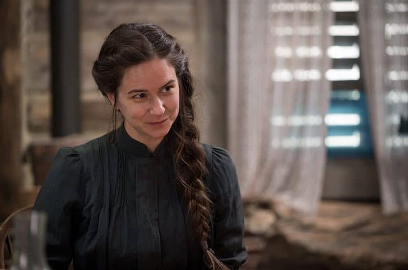 Katherine Waterston in The World to Come