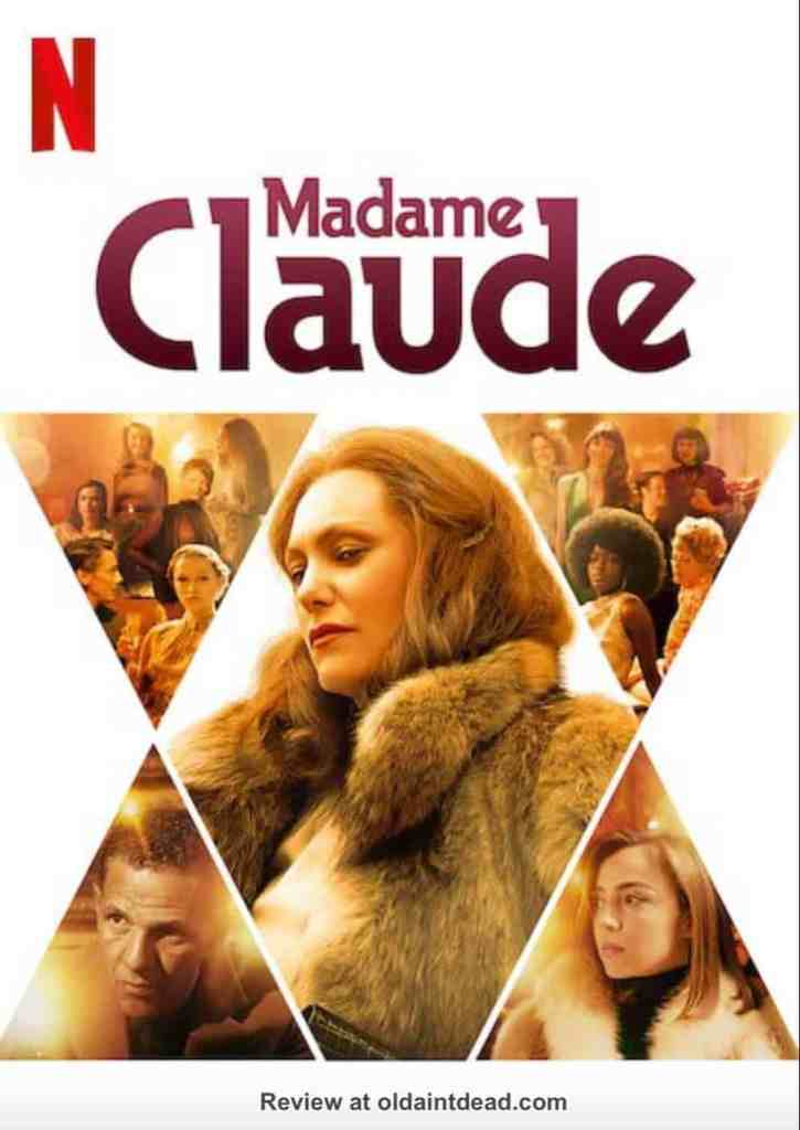 A poster for Madame Claude
