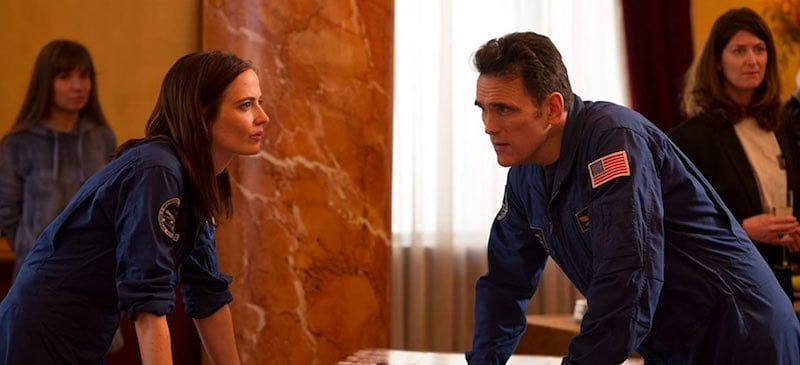 Matt Dillon and Eva Green in Proxima