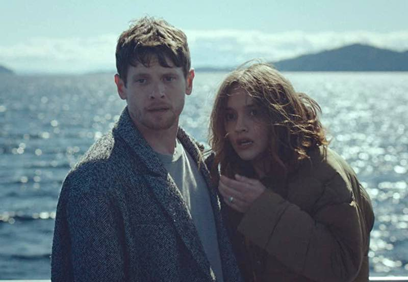 Jack O'Connell and Olivia Cooke in Little Fish