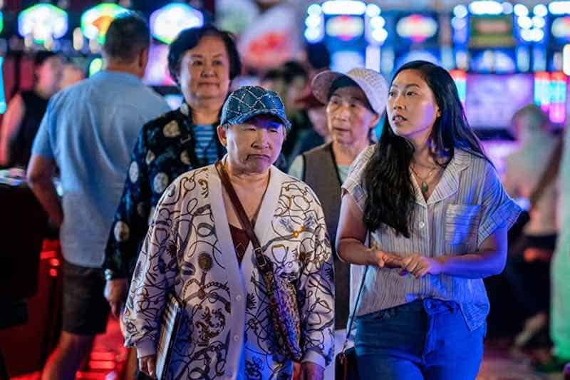 Lori Tan Chinn and Awkwafina in Awkwafina is Nora from Queens
