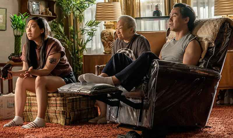 Awkwafina, Lori Tan Chinn, and BD Wong in Awkwafina is Nora from Queens