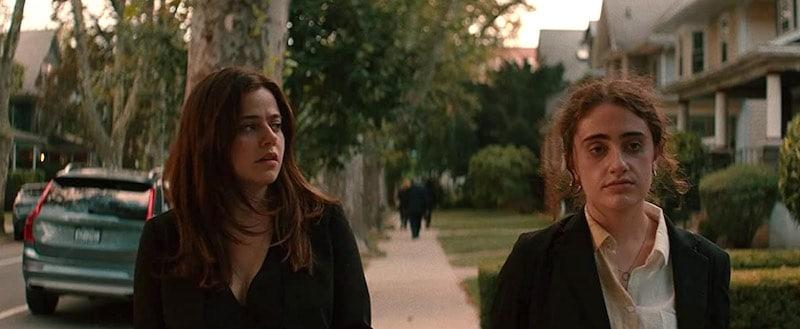 Molly Gordon and Rachel Sennott in Shiva Baby