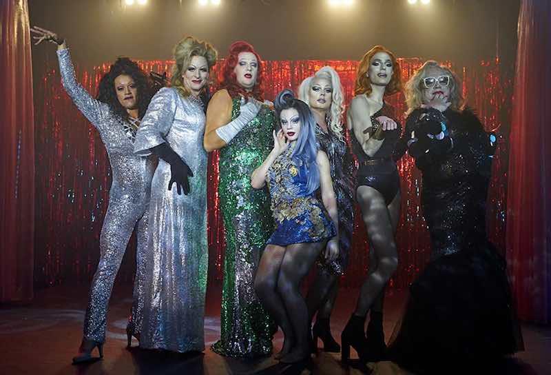 The drag queens in Dancing queens