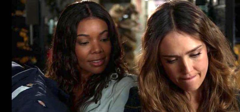 Jessica Alba and Gabrielle Union in LA's Finest