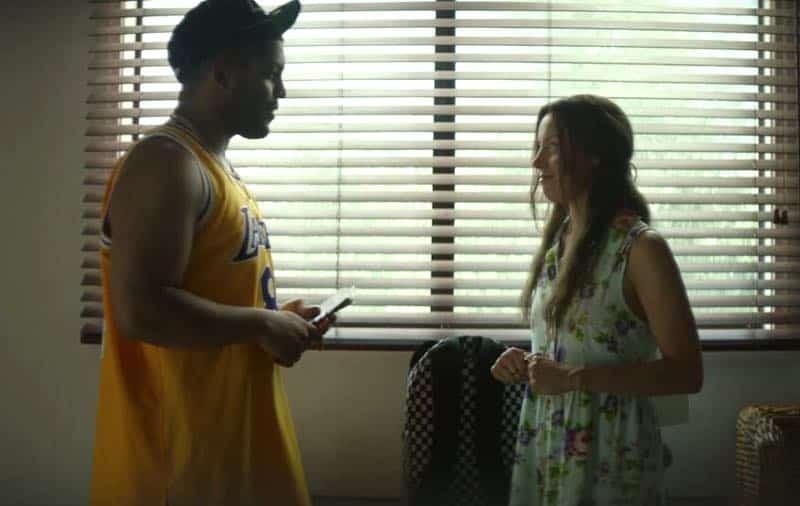 Aubrey Plaza and O'Shea Jackson Jr. in Ingrid Goes West
