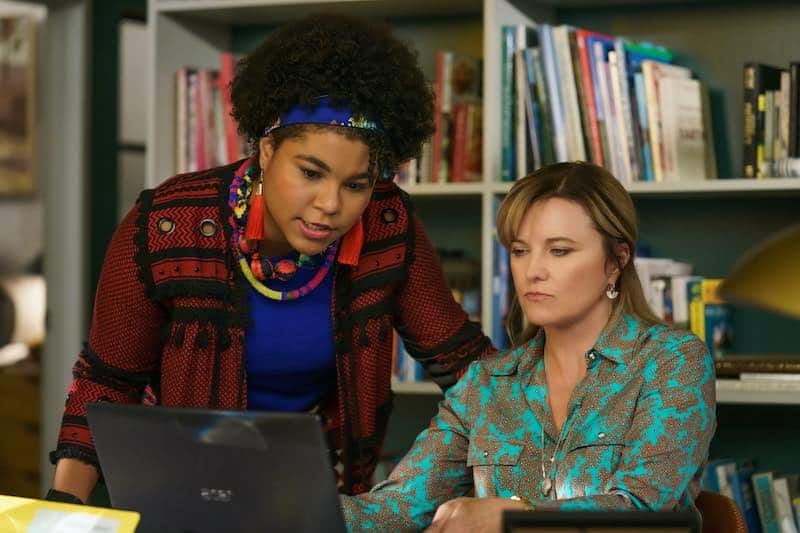 Lucy Lawless and Ebony Vagulans in My Life Is Murder