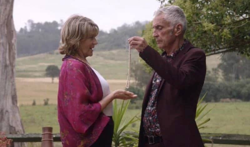 Tina Bursill and John Waters in The Heart Guy