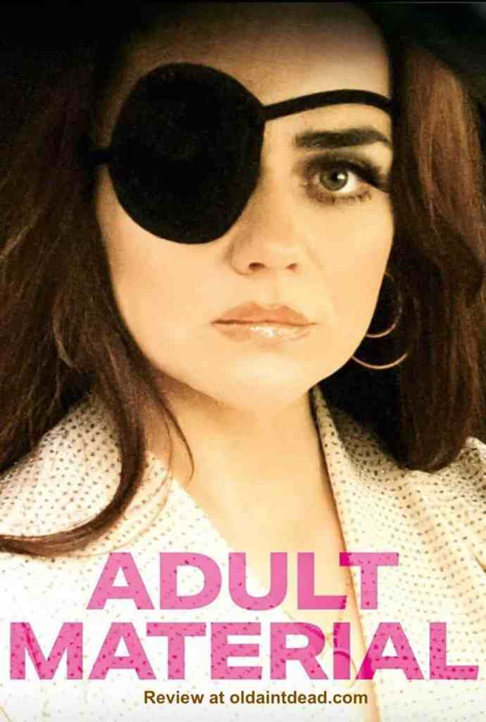 Poster for adult material