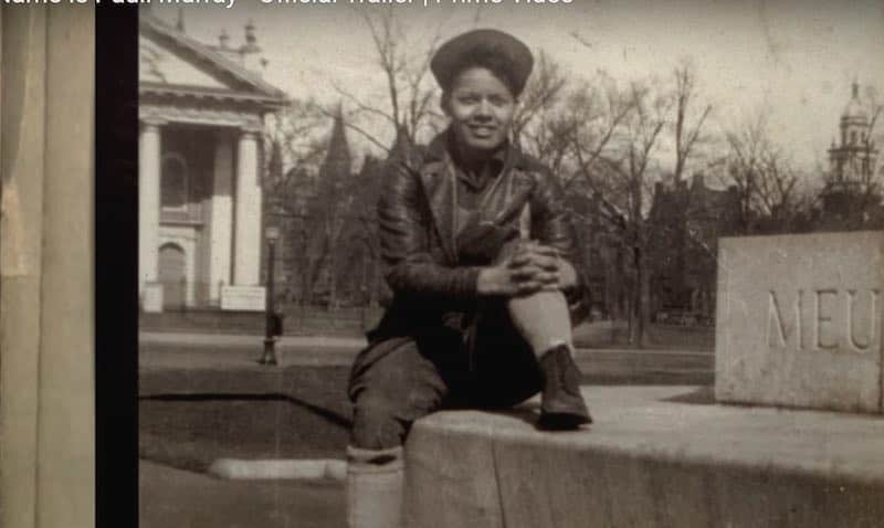 Pauli Murray as a young person in My Name is Pauli Murray