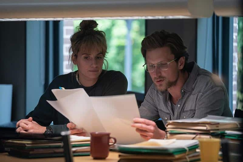 Mikkel Boe Følsgaard and Danica Curcic in The Chestnut Man