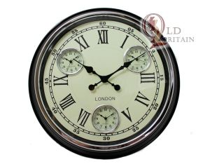 multi dial wall clock