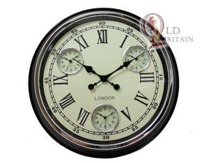 multi dial wall clock