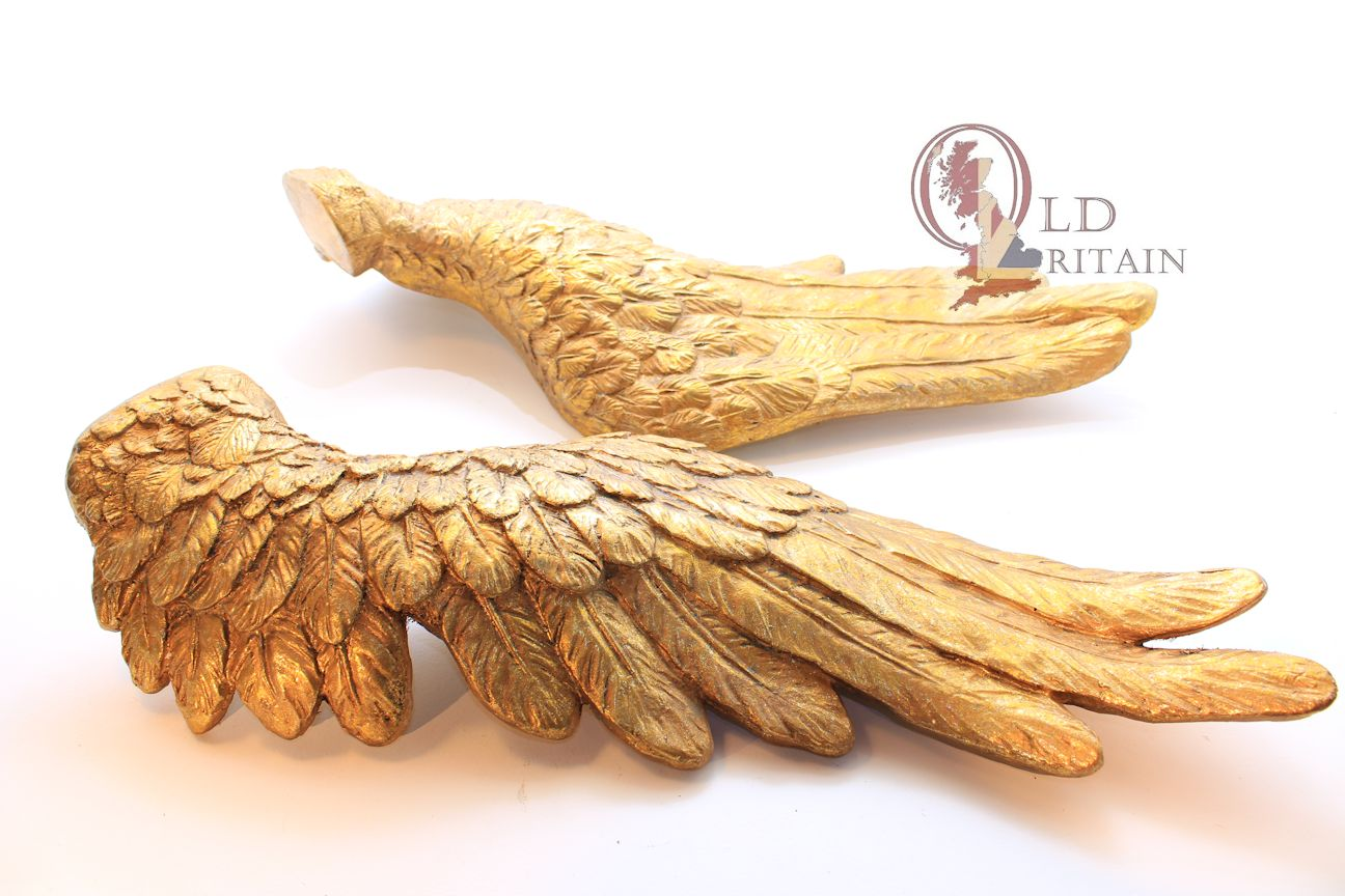 Angel Wings Wall Hanging Sculpture - Model - Plaque