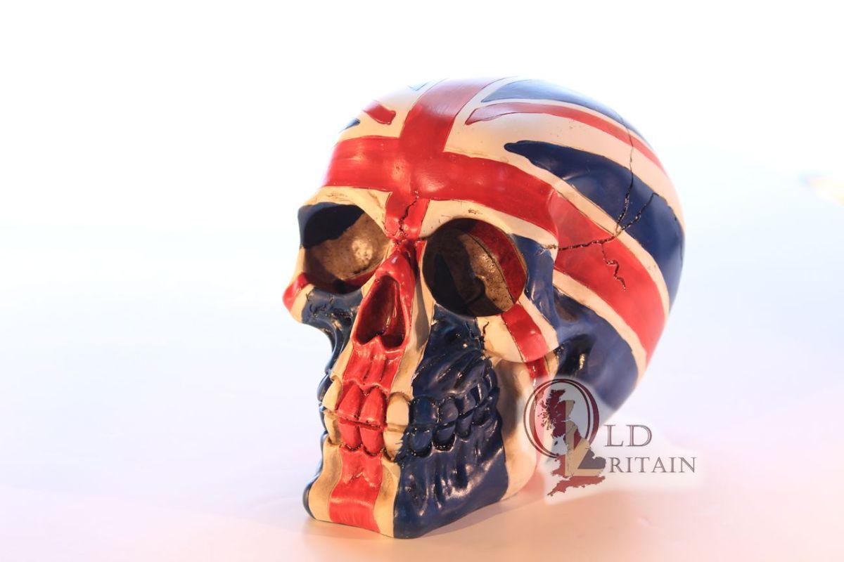 union jack skull