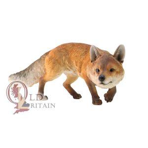 Prowling Fox Statue