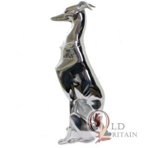 aluminium greyhound statue