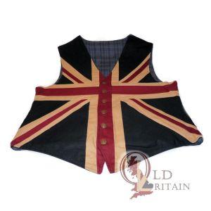 vintage union jack waistcoat