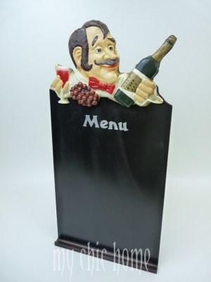 Waiter Menu Board