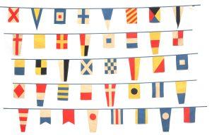 40-flag nautical bunting