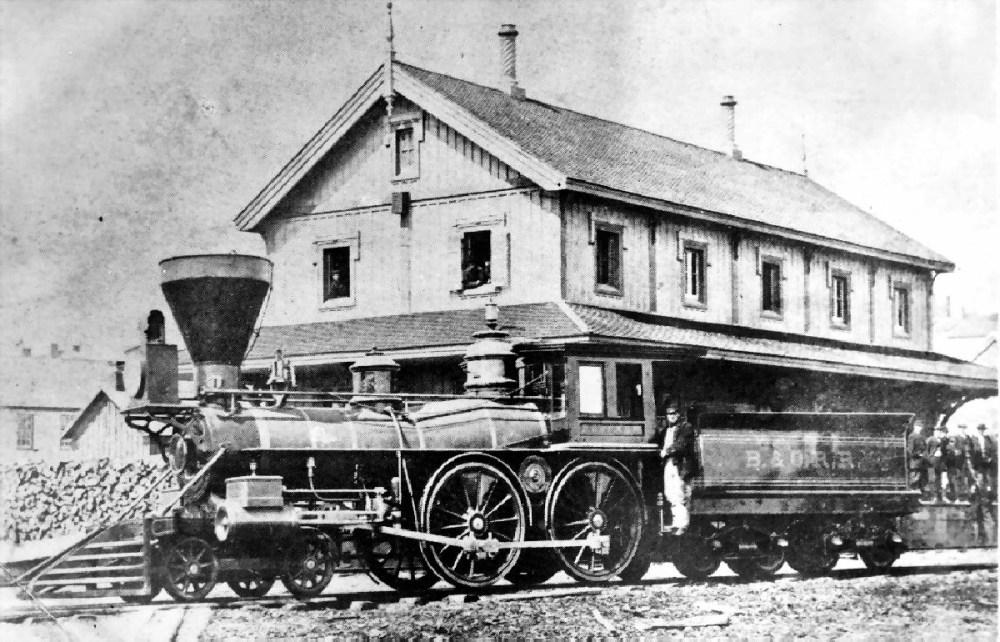 Railway Photographs taken in Brockville - Part 2 (1/5)