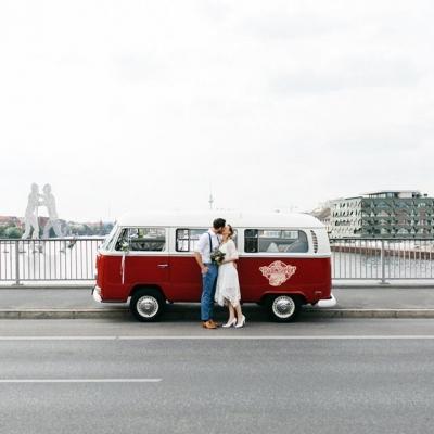 Hochzeitsauto - Old Bulli Berlin