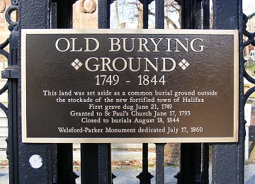 Image result for old burial ground halifax
