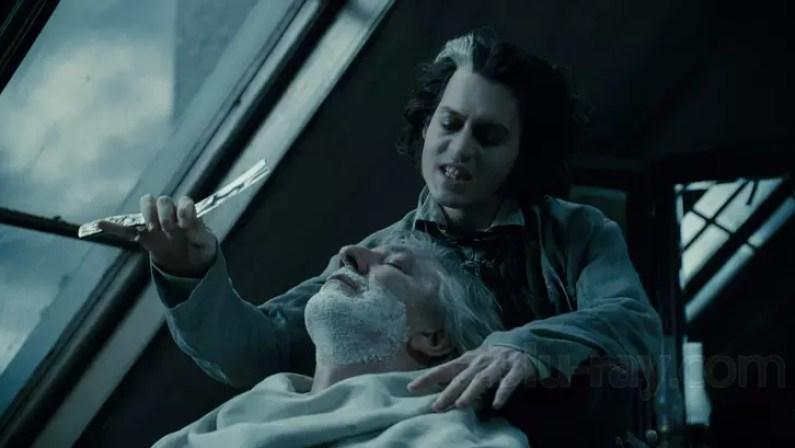 Film science fiction Tima Burtona Sweeney Todd