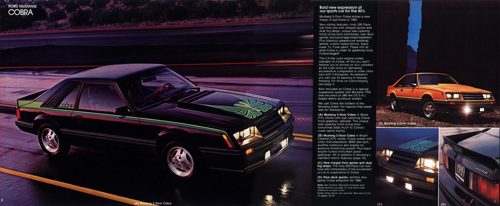 Mustang Eighties Cars