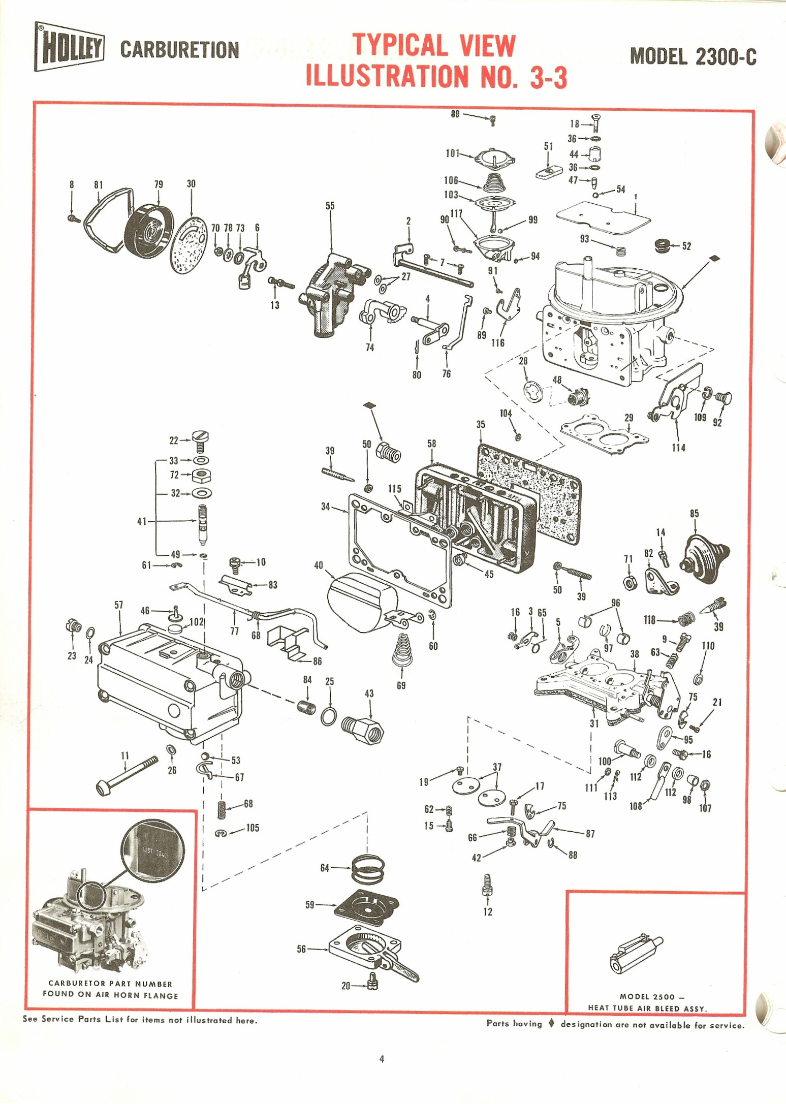 Holley C Exploded Diagrams