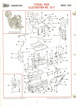 Holley 2209 Exploded Diagrams  The Old Car Manual Project