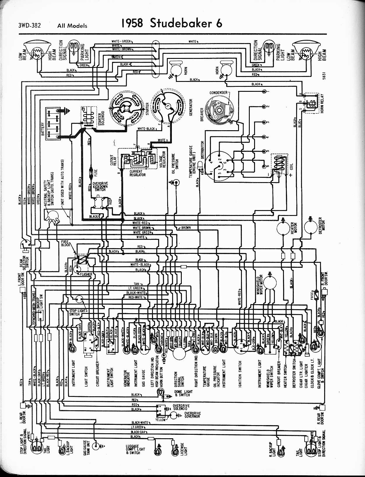 1951 Studebaker Ch Ion Wiring Diagram Schematics Diagrams 1948 Commander