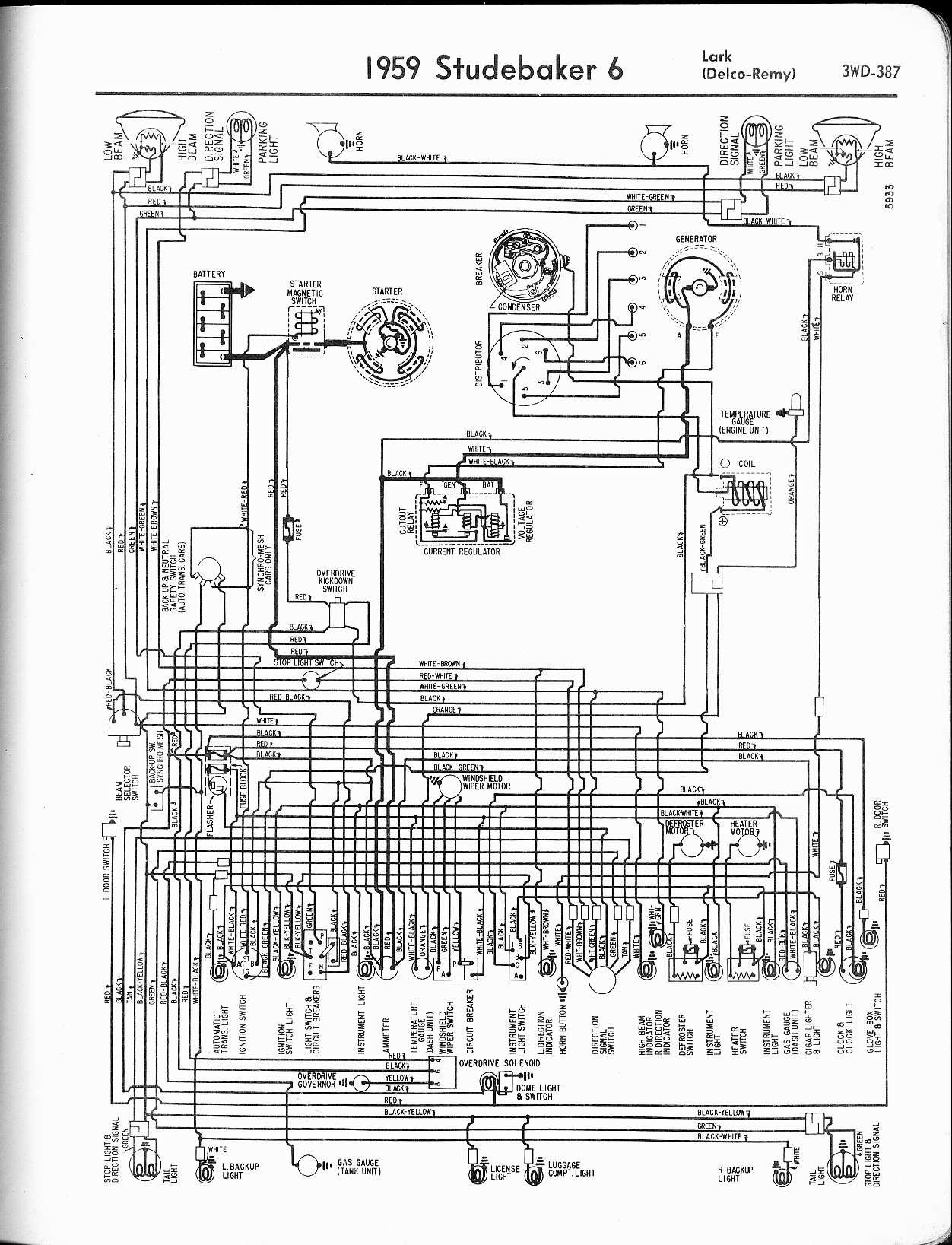 1951 Studebaker Champion Wiring Diagram Library Diagrams
