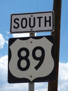 south 89