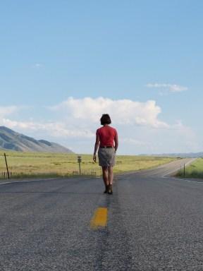 On the road -Utah