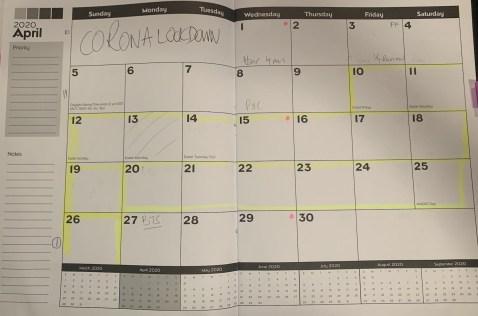 Empty Calendar